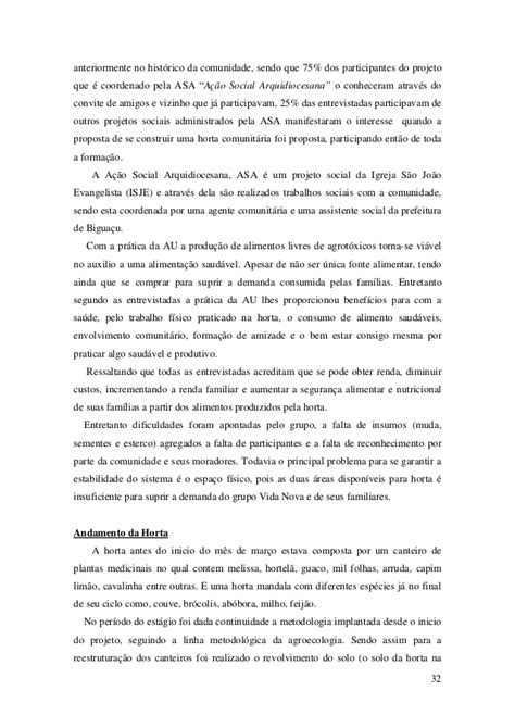 """""""AGRICULTURA URBANA: Um estudo de caso nas comunidades"""