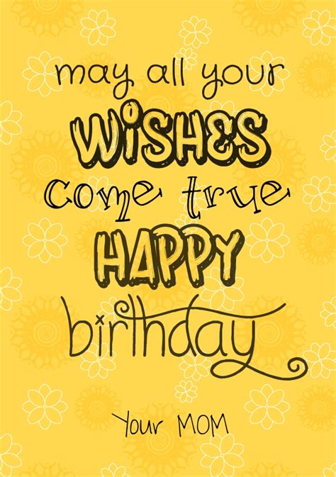 Happy Birthday Quotes For From happy birthday quotes for with images