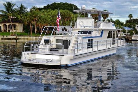 seaark houseboat used 2000 gibson 5900 ls palm beach gardens fl 33418