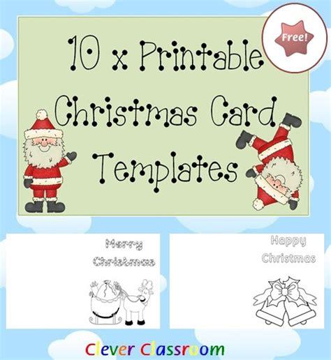 printable christmas cards pdf free 10 x printable christmas card templates pdf file your