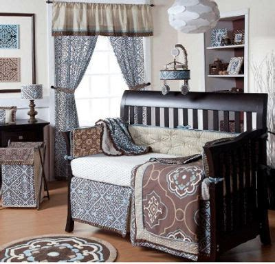 Blue And Brown Nursery Decorating Ideas Brown And Blue Baby Nursery Ideas For Baby Boys And