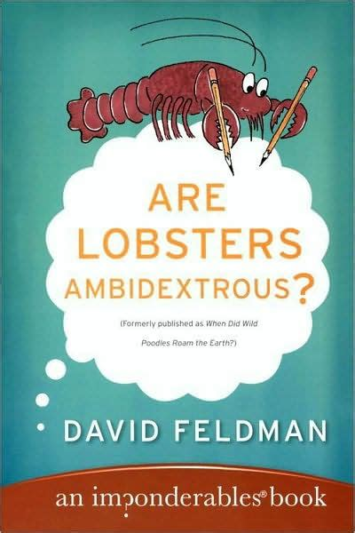 libro lobster is the best are lobsters ambidextrous by david feldman kassie schwan paperback barnes noble 174