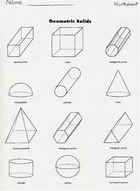 printable solid shapes worksheets geometric solids worksheet worksheets tataiza free