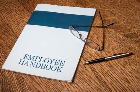 Which Emerging Issues Should Your Handbook Cover Employee Handbook Cover Design Template