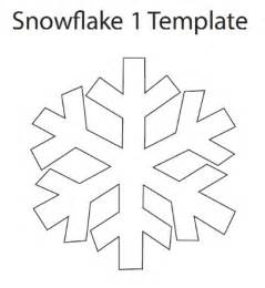easy snowflake template snowflake ornament tutorial think crafts by createforless