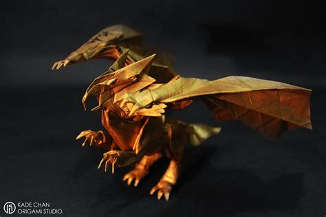 How To Make An Origami Griffin - kade chan origami 香港摺紙工作室 日誌 gryphon zero 獅鷲零式