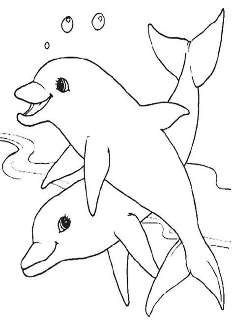Delfine Ausmalbilder   Ausmalbilder