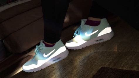 nike light reflective shoes shoes blue nike light shiny cute love nike running
