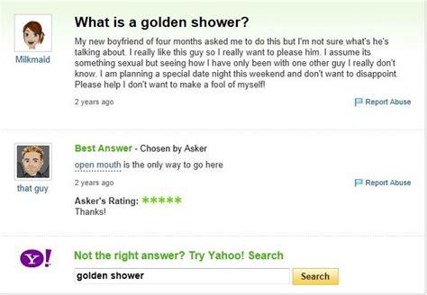 What Is The Golden Shower golden shower
