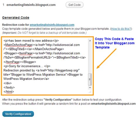 a plugin for redirecting links from blogger to wordpress