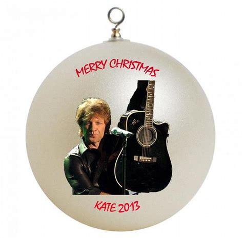 jon bon jovi personalized christmas ornament by