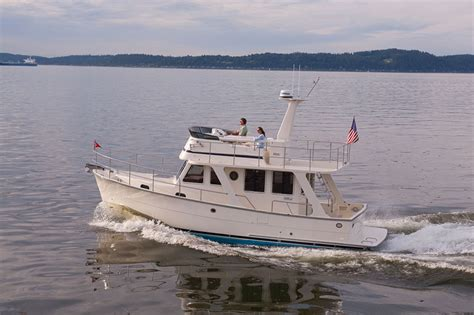 trailer trawler boats five affordable trawlers under 40 feet boats