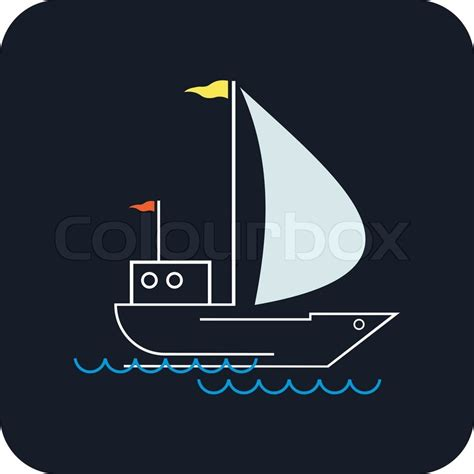 waves boat club prices yacht that sails on the waves stylized image of the