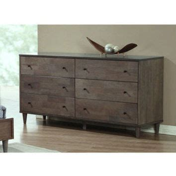size 9 drawer dressers overstock com buy bedroom vilas light charcoal 6 drawer dresser from overstock must