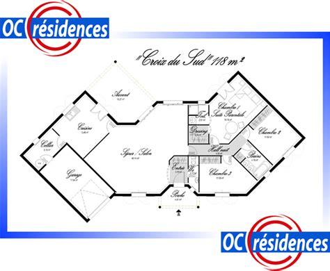 mod 232 le et plans croix du sud du constructeur oc residences