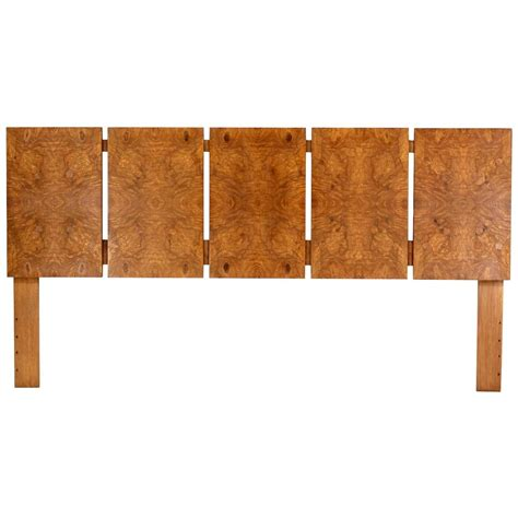 walnut headboards king size burl walnut headboard at 1stdibs
