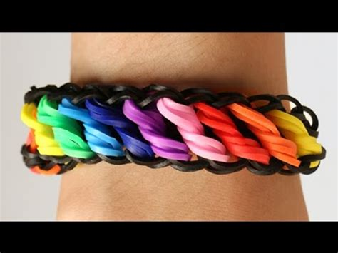 youtube tutorial loom bands loom bands nederlands rotini tutorial rainbow loom