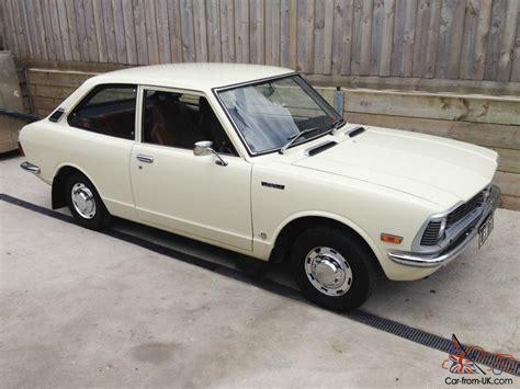 vintage toyota toyota corolla 1974 ke20 2 door 4 speed manual classic