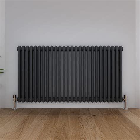 traditional  column radiator anthracite horizontal cast