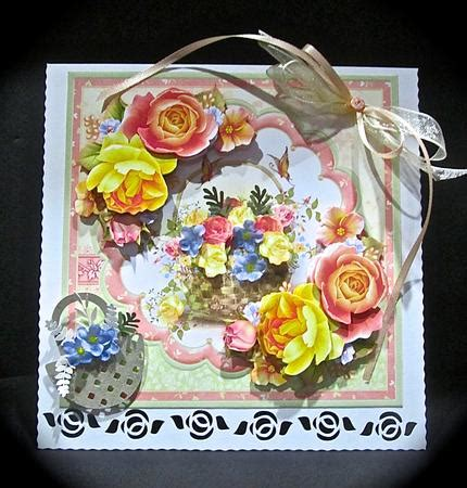 Decoupage Kits Sale - basket 8x8 mini kit decoupage cup602800 68