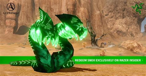 Archeage Giveaway - giveaway archeage 3 0 snek the razer pet razer
