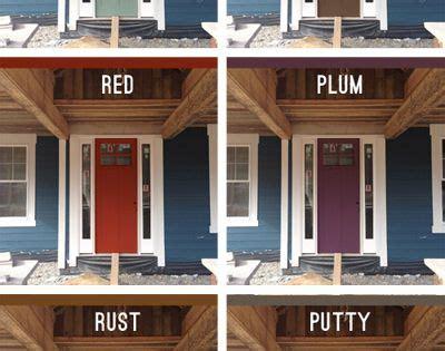 blue house orange door picking an exterior paint color exterior paint colors