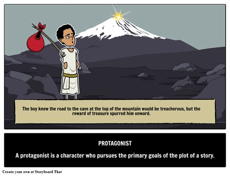 protagonist definition meaning exles literary terms
