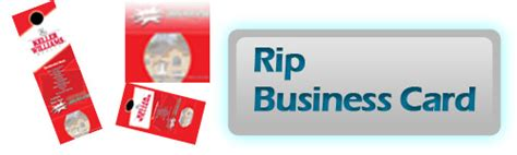 Rip Business Card Templates by Print Executives Business Cards Brohures Postcards