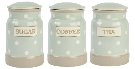 Canister Set For Kitchen by Tea Coffee Sugar Canisters 1 16 January 2015