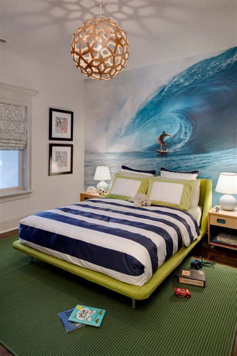 teenage wall murals eye catching wall d 233 cor ideas for teen boy bedrooms