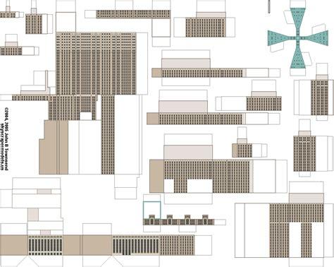 Petronas Twin Towers Floor Plan edificios de papel taringa