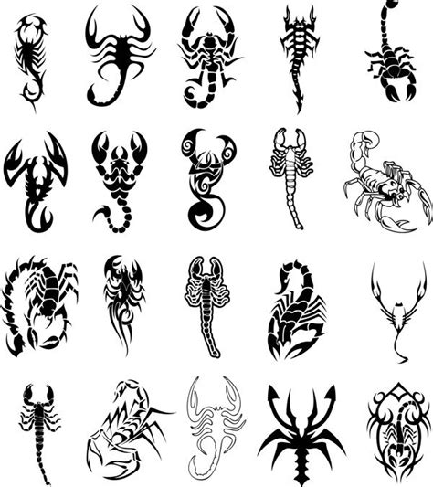 51 Scorpio Zodiac Sign Tattoos Tattoos Of Horoscope Signs