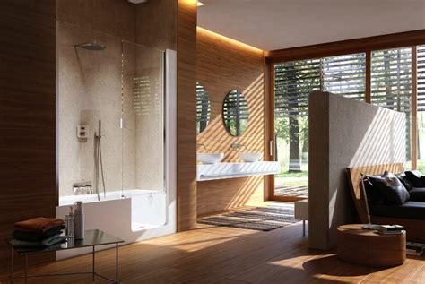 wood wall in bathroom wood wall bathroom interior design ideas