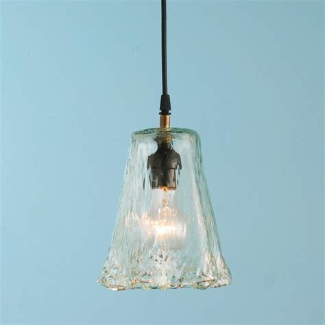 Small Pendant Light Shades Small Recycled Ruffle Glass Pendant Pendant Lighting By Shades Of Light