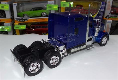 kenworth canadiense 1 32 kenworth w900 aerocab azul cabina canadiense new ray