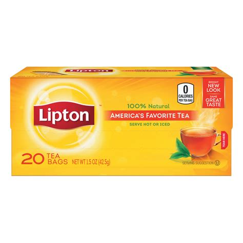 lipton orange spice tea bags
