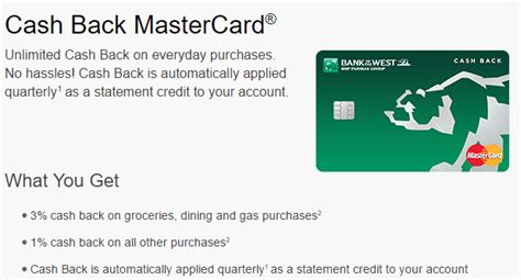 Bank Of The West Letter Of Credit Bank Of The West Back Mastercard Review 3 On Groceries Dining Gas Purchases Az Ca