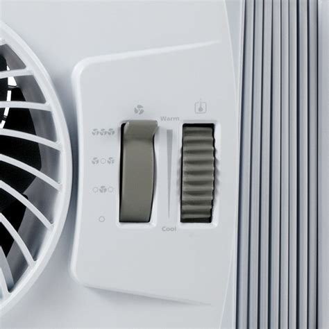 fan with thermostat bionaire 174 bwf0502m wm thin window fan with comfort control