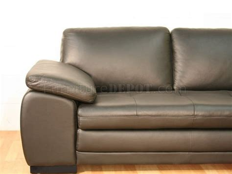 chocolate brown sectional sofas 625 sectional sofa in chocolate brown italian leather by j m