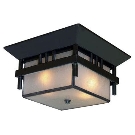 acclaim lighting bali collection ceiling mount 2 light