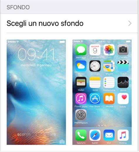 blocco rotazione schermo iphone 6 dphoneworld net iphone 6s come personalizzare home screen creare