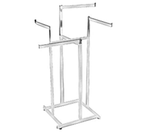 4 Arm Clothing Rack by High Capacity Arm 4 Way Clothing Racks Aa Store