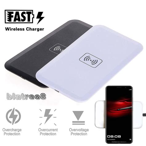 qi wireless charger charging pad dock  huawei p p mate  pro rs ebay
