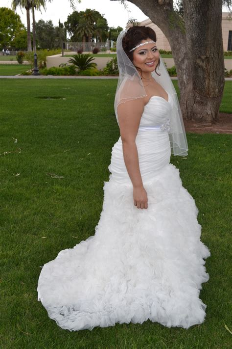Wedding Ruffled by Nicoleh S Fitted Ruffled Wedding Gown Strut Bridal Salon