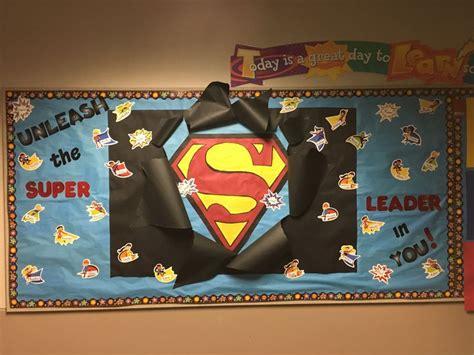 ideas  superhero bulletin boards