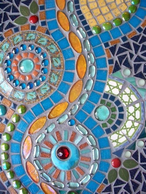 mosaic templates turquoise river mosaic wall hanging 30 with coupon code