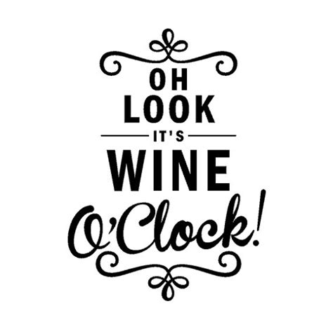 wine glass sayings svg wine o clock kitchen wall decal wine clock decal free