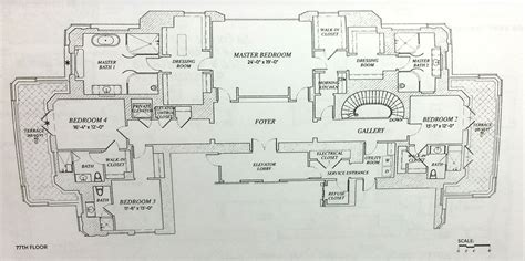 floorplan robert hedge fund tycoon may be the buyer of 200m penthouse at 220 central park south 6sqft