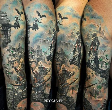 tattoo assassins ac 17 meilleures id 233 es 224 propos de assassins creed tattoo sur
