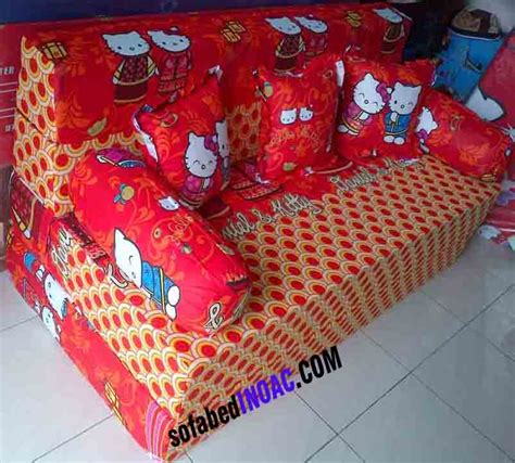 Sofa Bed Karakter Hello sofabed hello merah spesialis sofabed inoac